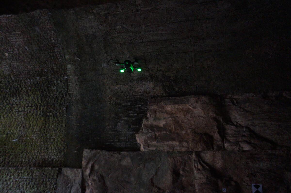 Ricognizione tunnel ipogei - Hypogeum tunnel survey